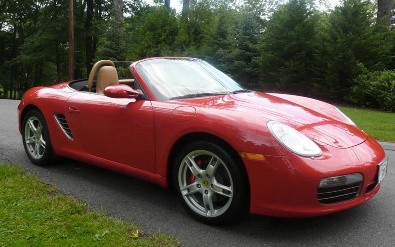Porsche Boxster Cabriolet Toronto Luxury Car Rental