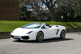 Lamborghini Gallardo Spyder Rental